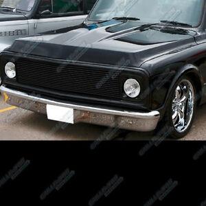 Fits 69-72 Chevy Blazer/C/K Pickup/Suburban Black Billet Grille Grill Insert
