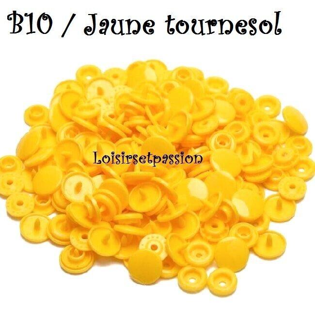 Couleur B10 / JAUNE TOURNESOL