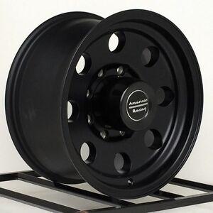 16-Inch-Black-Wheels-Rims-Dodge-Chevy-HD-2500-3500-Ford-F ...