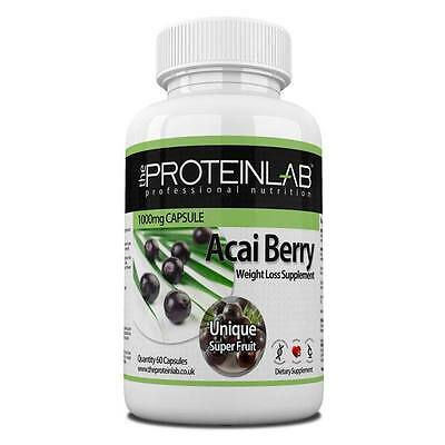 Acai Berry Super Strength Diet Pills Weight Loss Fat Burner Slimming -