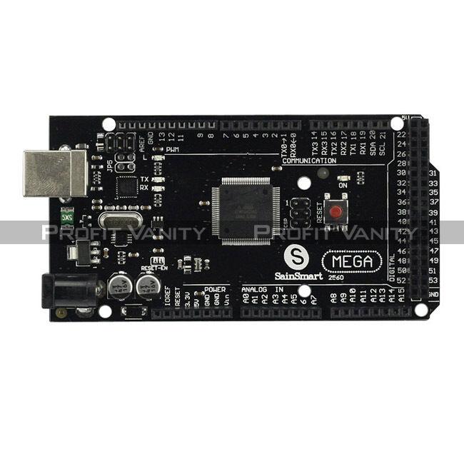 SainSmart Mega2560 R3 ATmega2560 +ATmega16U2 +USB Kabel Für Arduino Ramps 1.4 DE