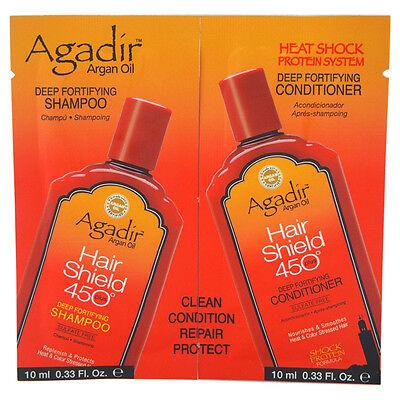 - Agadir Argan Oil Hair Shield 450 Deep Fortifying Shampoo & Conditioner Duo