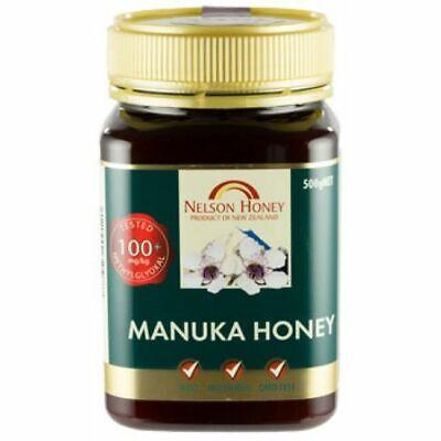 Nelson Honey New Zealand Manuka Honey (100+) 500g