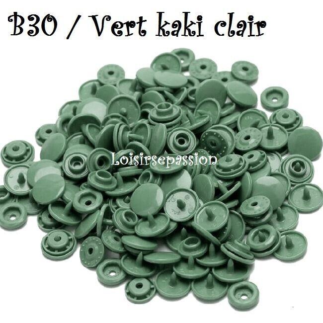 Couleur B30 / VERT KAKI CLAIR