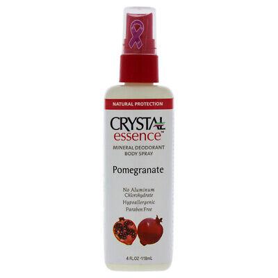 Crystal Essence Mineral Deodorant Body Spray Pomegranate - 4