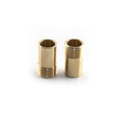 "Monobloc Tap Flexible Hose Tail Adaptor 3/8"" BSP Male Thread and 15mm Spigot"