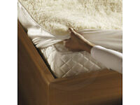 2x Brand new Monogram by Beurer Komfort Soft & Fleecy Heated Mattress Topper(single size)