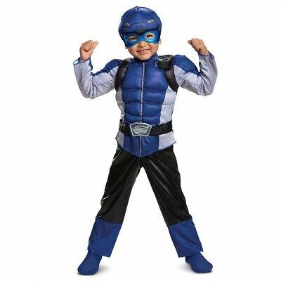 Verkleidung Power Rangers Biest Morpher Blau Muskel Kleinkind - Blaue Biest Kind Kostüme