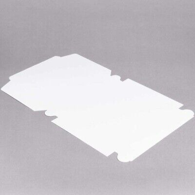 250-pack 10 X 10 X 2 12 White Square Pie Cookie Pastry Bakery Take-out Box