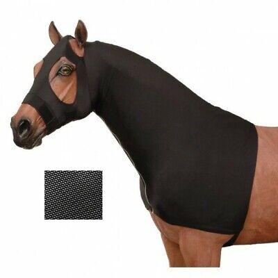 Mane Stay Hood (Tough-1 Mesh Lycra Mane Stay Hood Black Large Horse Tack Equine  )