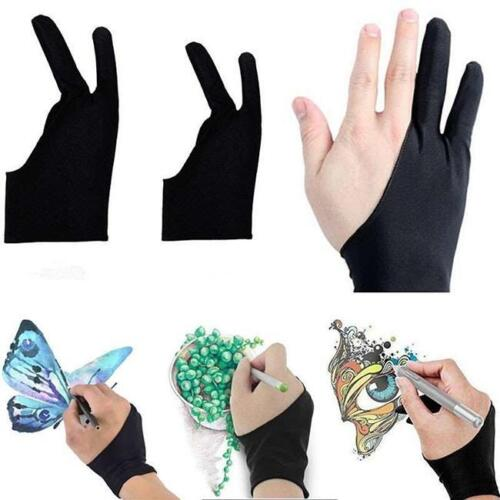 Artist Drawing Two Finger Glove Graphics Drawing Art Student