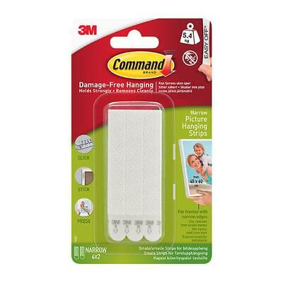 3M Command Narrow Picture Strips 17207