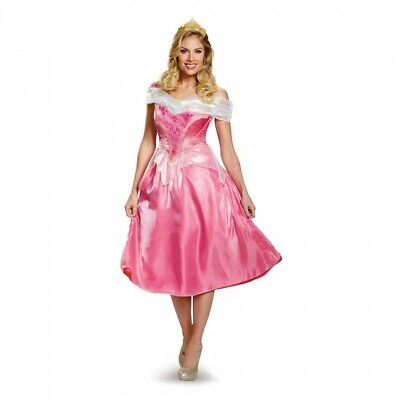 Adult Disney Deluxe Aurora Sleeping Beauty Costume  (Disney Sleeping Beauty Adult Costume)
