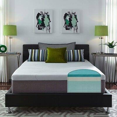 Gel Memory Foam Mattress Queen Size 14 Inch Thick Firm Best Sleep Body