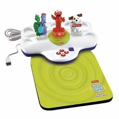 Fisher Price Sesame Street Elmo Dragon Tales Internet Launch Pad Easy Link
