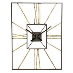 Aspire Home Accents 5070 Lex Mid Century Wall Clock Gray