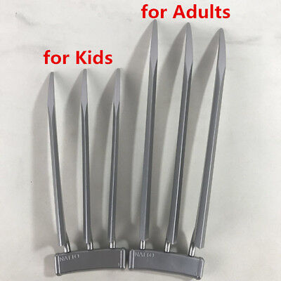 Halloween Kids Adult New Version Wolverine Claws Blade Plastic Cosplay Props - Wolverine Claws Halloween