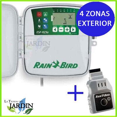 Wifi Lnk Programmer Rain Bird Exterior Rzx 4 Zone Driver Garden Irrigation 24V
