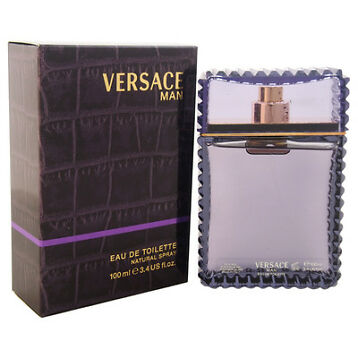 Brand New Versace Man by Versace for Men - 3.4 oz EDT Spray+ Great Price