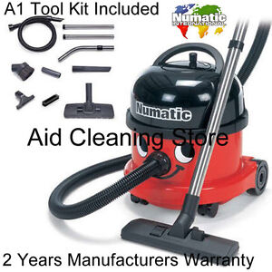 Numatic-Henry-Industrial-Commercial-Builders-Site-Vacuum-Cleaner-110V-NRV200-Red