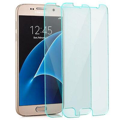 2x Display Schutzglas für Samsung Galaxy S7 - Panzerfolie Panzer Glas Folie Klar