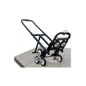 Climbing stair hand truck dolly cart wagon with spare tires 190418