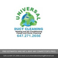 Air Duct Cleaning, Window Cleaning and More