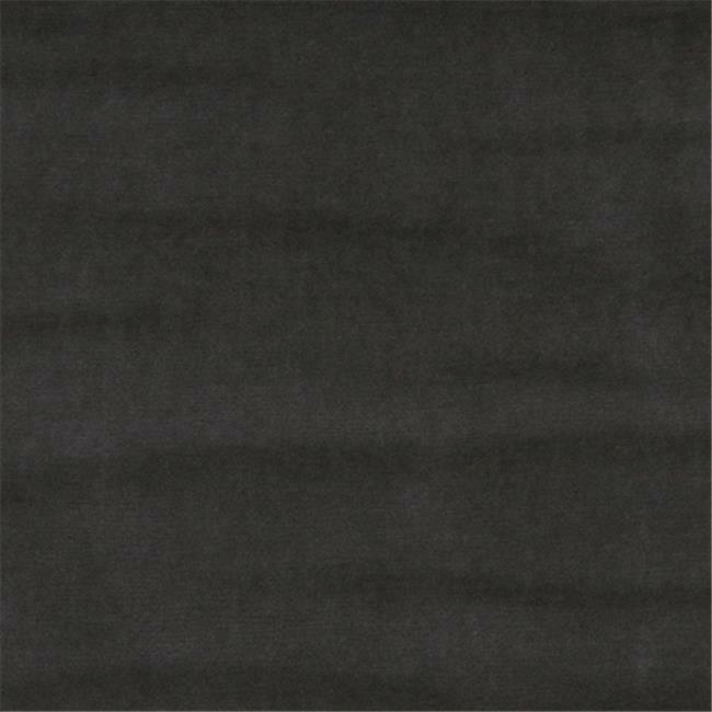 Designer Fabrics K0001F 54 in. Wide Dark Grey Authentic Cotton Velvet Upholst...