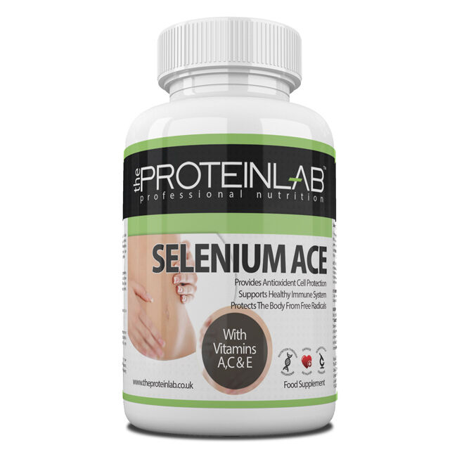 Selenium 220 mcg and Vitamins A,C,E Antioxidant Tablets Pills - Free Delivery