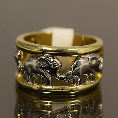 Gold Filled elephant Ring