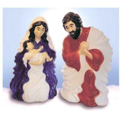Union Products 238831 28 in. Plastic Nativity Set with Cord Set
