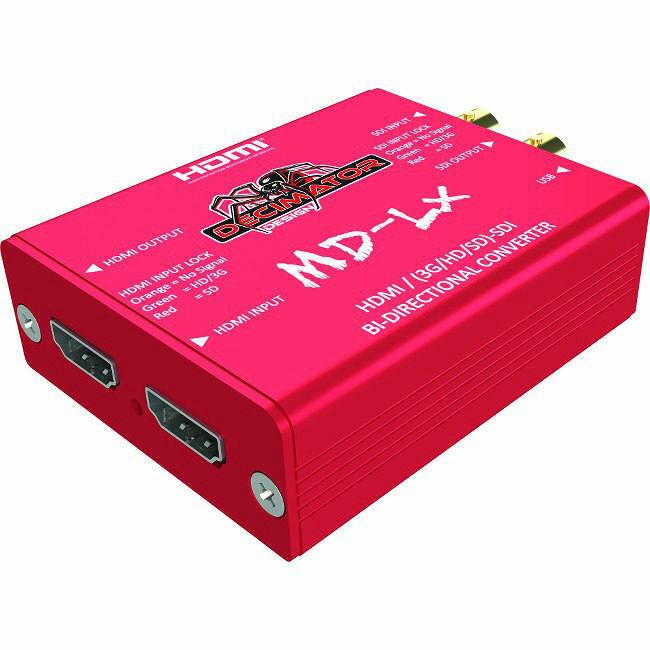 Decimator Design DD-LX Bi-Directional Converter - MD-LX HDMI/SDI
