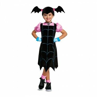 Halloween Vampire Cartoons (Disguise Disney Vampirina Vampire Cartoons Toddlers Halloween Costume)