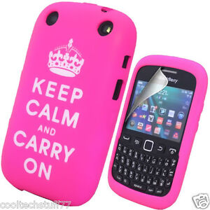 FOR BLACKBERRY CURVE 9320 MOBILE PHONE CASE COVER SILICONE Free Screen Protector