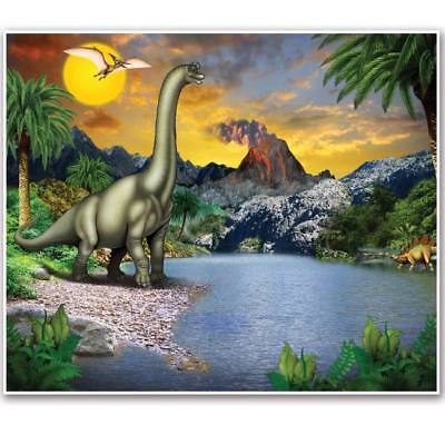 Dinosaur Giant Insta-Mural Dinosaur Birthday Party Wall Decoration - Dinosaur Party