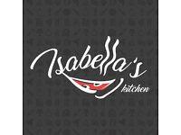 Kitchen porter urgent require for Isabella's Kitchen in Ealing Broadway