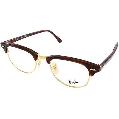 ban unisex rx 5154 tortoise gold clubmaster optical