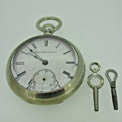 - Vintage 1924 Waltham Premier Colonial 21j Pocket Watch Movement For Parts Selected Material