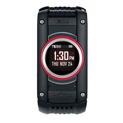 New Casio G'zOne Ravine 2 C781 - Black (Verizon) Rugged Cellular Phone