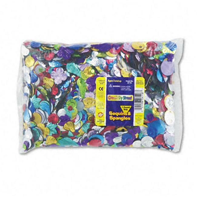 Chenille Kraft 6118 Sequins & Spangles Classroom Pack Assorted Metallic Color...