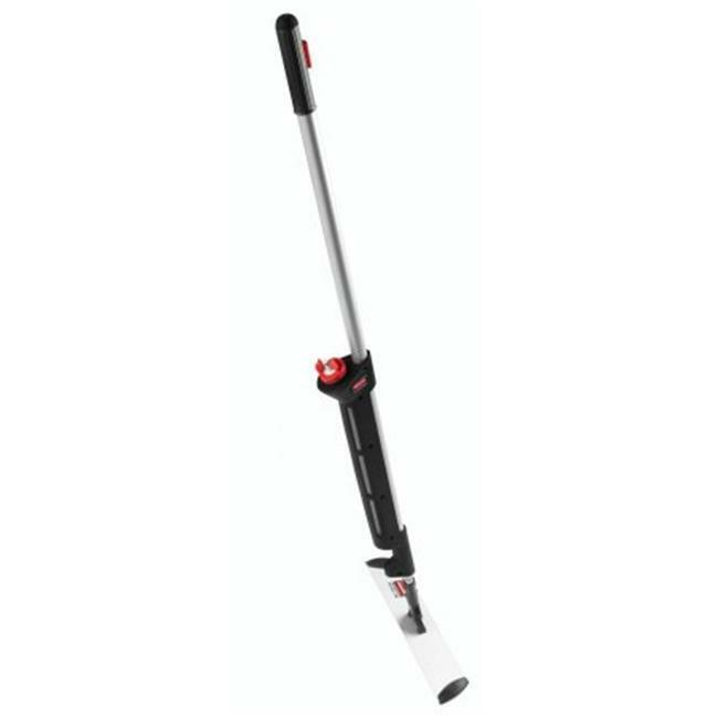 Rubbermaid Commercial Executive Microfiber Single-Sided Flat Mop Frame Black ...