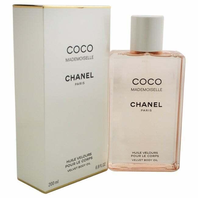 Chanel COCO MADEMOISELLE Velvet Body Oil 68oz 200ml NEW SEALED BOX