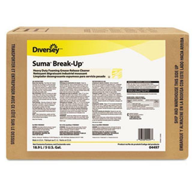 Glade 904497 5 gal Suma Break - Up Heavy - Duty Foaming Grease - Release Clea...