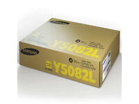 Samsung CLT-Y5082L Toner cartridge - 1-pack Yellow - 4000 pg