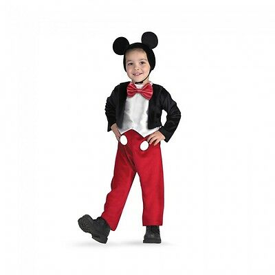 Mickey Maus Kostüm Jungen (Disguise Mickey Maus Clubhaus Deluxe Kind Jungen Halloween Kostüm 5027)