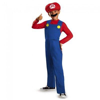 Disguise Super Mario Brothers Mario Luigi Kind Jungen Halloween Kostüm - Luigi Kostüm Junge
