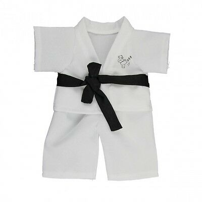 Black Belt Karate Outfit Gi teddy bear clothes fits Build a Bear