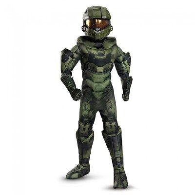 Disguise Halo Master Chief Prestige Spiel Kind Jungen Halloween Kostüm 89980 (Halo Master Chief Kind Kostüme)