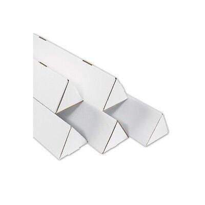 Triangle Mailing Tubes 2x18 14 White 50bundle