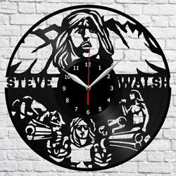 Steve Walsh Vinyl Record Wall Clock Fun Art Home Decor The Best Original 4120